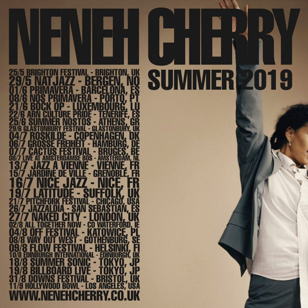 Neneh Cherry has never reinvented herself