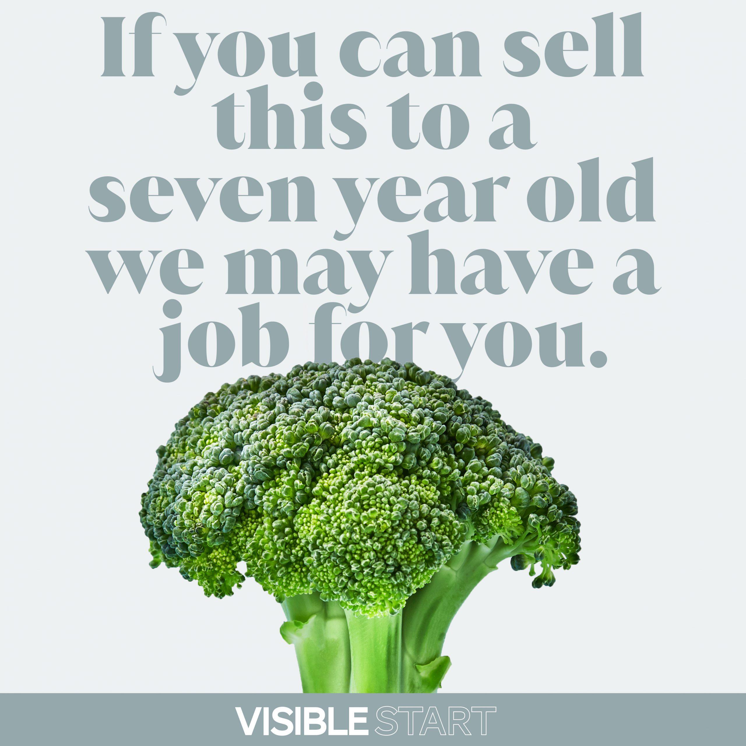 Visible Start Employment Advert
