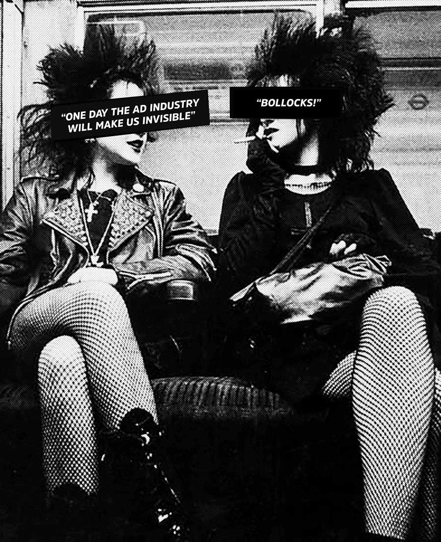 Punks on the tube